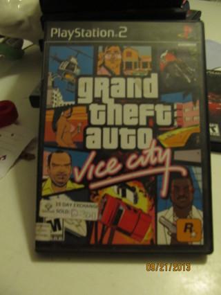 GRAND THEFT AUTO ~ Vice City ~ PS2
