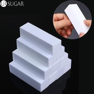10Pcs/set Sanding Sponge Nail File Buffer Block for UV Gel Nail Polish Nail Art Manicure Pedicure
