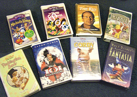 Disney VHS Tapes **You Pick One**