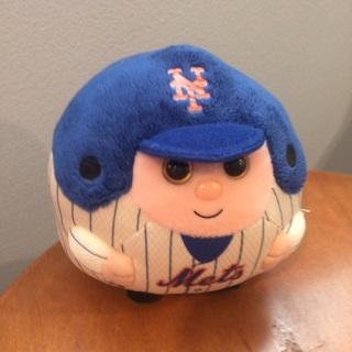 Ty Ballz MLB NY Mets plush