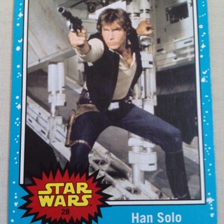 STAR WAR CARD