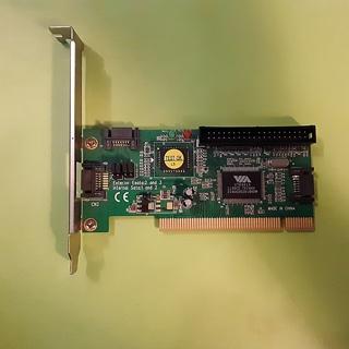 3 SATA+1 Port IDE to PCI RAID Card Controller Adapter VIA VT6421A