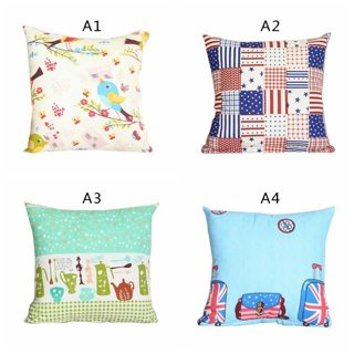 40*40cm Family Cover House Plush Pillow Home Room Office Decoration Throw Home Pillow Cover Home