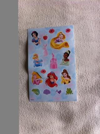 Disney Princess Stickers
