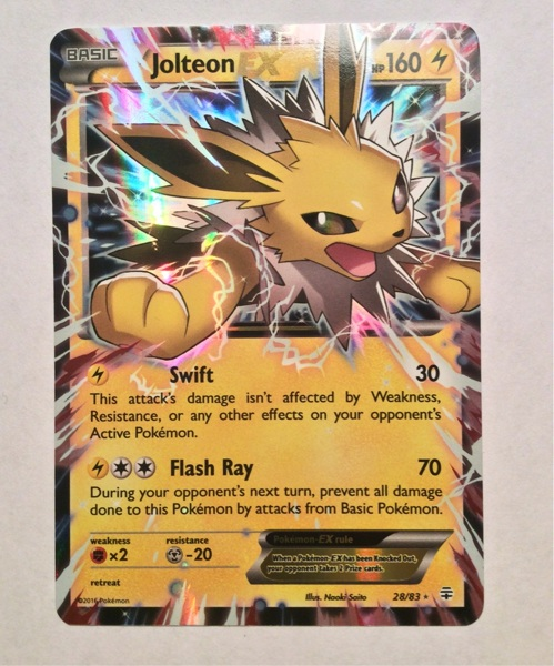 Free: Jolteon EX 28/83 From the Generations set - Trading ...