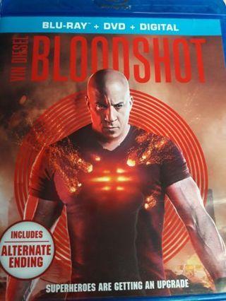BLOODSHOT (Vin Diesel Movie 2020) Digital only.