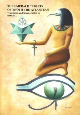 NEW The Emerald Tablets of Thoth The Atlantean Book Paperback FREE SHIPPING