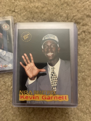 Kevin Garnett 1995-96 Stadium Club Rookie Card Timberwolves