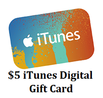 Free: $5 iTunes Store Digital Gift Card! - Gift Cards