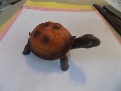 4 1/2 long rubber turtle