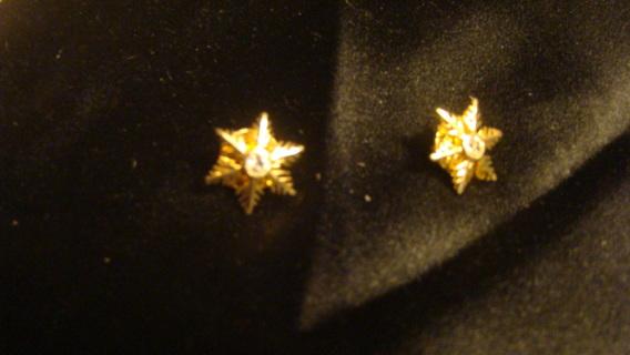 snow flake pins