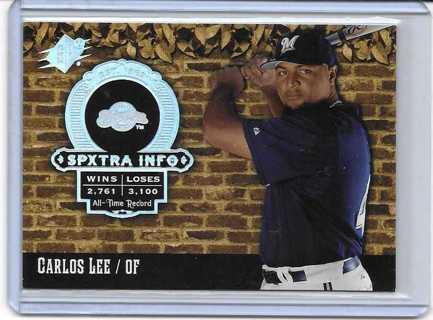 Carlos Lee 2006 SPx SPxTra Info #XI-CL
