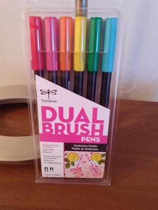 Brand New Tombow Dual Brush Celebration Palette