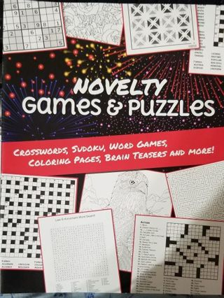 Novelty Games & Puzzles book
