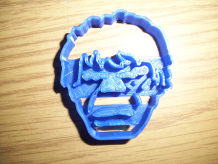 Hulk head Cookie Cutter -  (3D Printed Plastic)