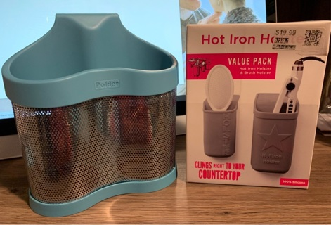Hot iron holster 100% silicone+ Blow dryer holder