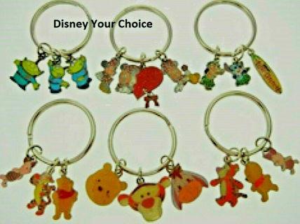 Disney Characters Authentic Disney Characters Key Rings keyrings NWT