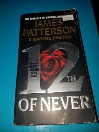 James Patterson Women's murder Club series book 12 in series