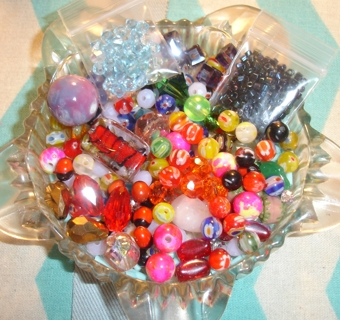 Jewelry Making Findings & Beads Grab Bag! NEW BEADS!! FREE S&H w GIN - NEW STUFF