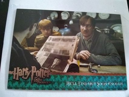 Harry Potter Order Of The Phoenix Trading Card