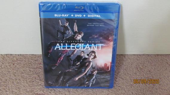 Allegiant Blu-Ray New in Package
