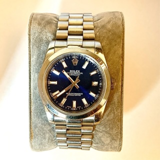 Automatic Rolex Oyster Perpetual Datejust watch (marked 14k) Perfect Look a like