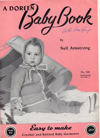 Vintage Craft Book: Baby Book Crochet and Knitting