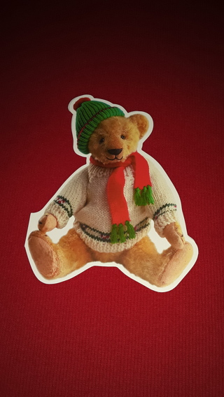 Christmas Cards - Teddy Bear