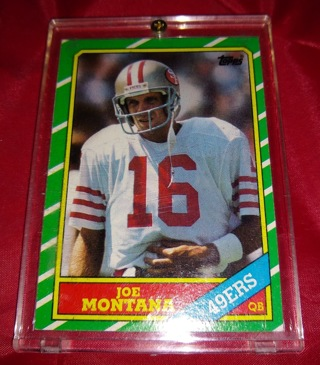 1986 Topps Joe Montana San Francisco 49ers #156 Football Card