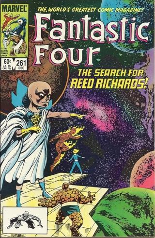 (CB-7) 1983 Marvel Comic Book: Fantastic Four #261