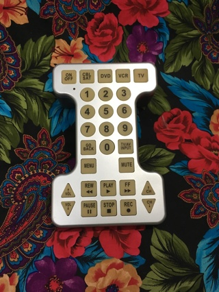 1 over sized novelty TV remote control for television