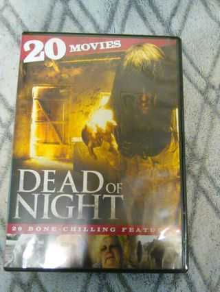 """Dvd """"Dead of Night"""" with 20 bone chilling features"""