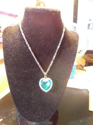 Beautiful Titanic Replica Heart Necklace