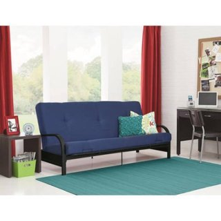 """NEW! Futon with COMFY 6"""" Mattress. You choose the Color!"""