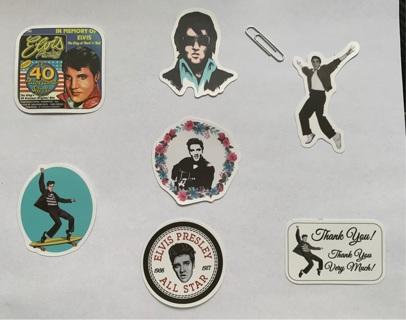 Elvis stickers