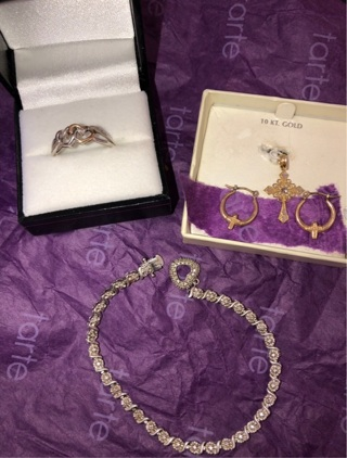 10K AND STERLING JEWELRY BUNDLE! MUST SEE