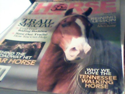Horse Magazine about Tennesse Walking horses