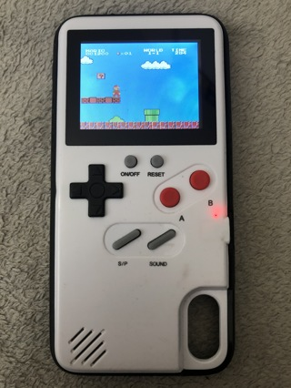 iPhone X Working Video Game Phone Case