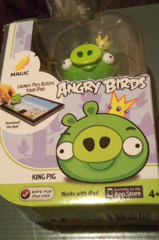 ANGRY BIRDS < KING PIG > HD APP <> iPAD