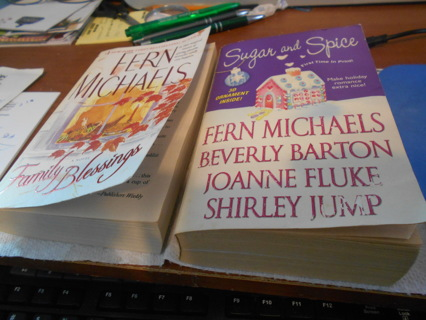 2 Romance Paperback Books
