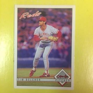 1993 O-Pee-Chee #48 P Tim Belcher - Reds