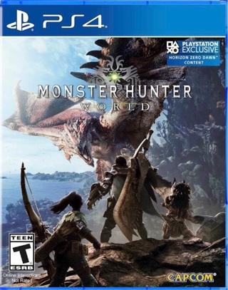 Monster Hunter:  World - PlayStation 4 PS4 - Brand New