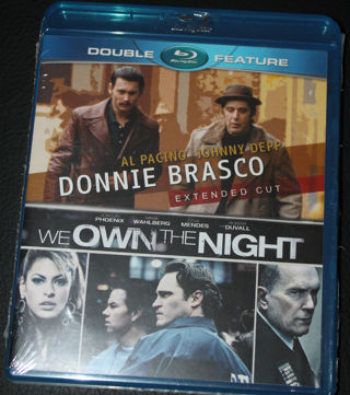 Donnie Brasco/We Own the Night- UV Code Only- No Discs
