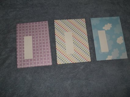 3 Size A8 Decorative Envelopes (number 1)