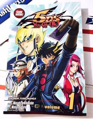Konami 5D'S YUGIOH Vol.1 Shonen Jump Manga Book FREE SHIPPING