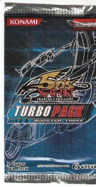 1 NEW Pack Yu-Gi-Oh! 5D's TCG: Turbo Pack Booster Card Pack YuGiOh Cards