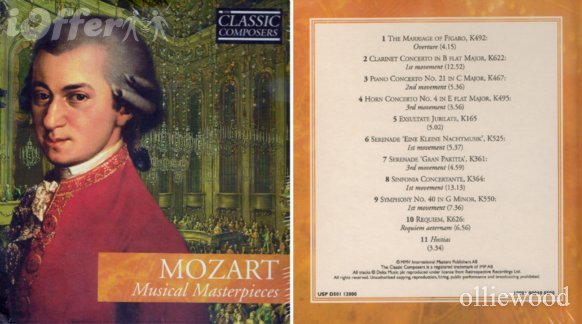 Wolfgang Amadeus Mozart baptized as Johannes Chrysostomus Wolfgangus Theophilus Mozart January 27 1756 December 5 1791 was a prolific and