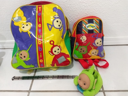 Teletubbies Back pack and mini backpack