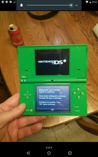 NINTENDO DSI WORKS WITH CHARGER AND STYLUS