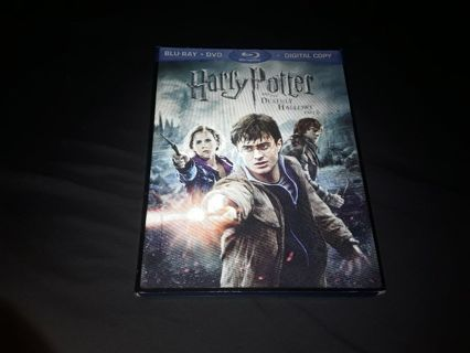 Harry Potter and the deathly hallows part 2 dvd, blu Ray combo